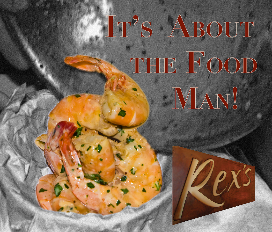 "Advertisement idea for Rex's American Grill and Bar, Steamboat Springs CO.  Nick is GM.<br /> <br /> <a href=""http://www.rexsgrill.com/http"">http://www.rexsgrill.com/http</a>://www.rexsgrill.com/"
