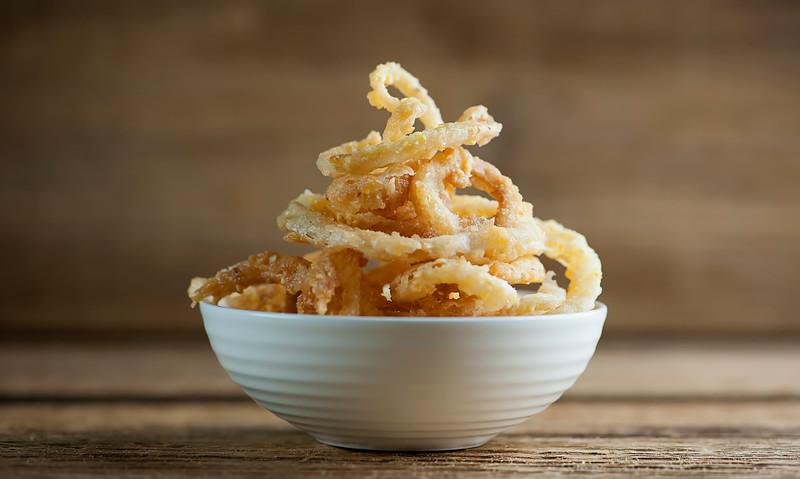 Sweet Cornmeal Onion Rings