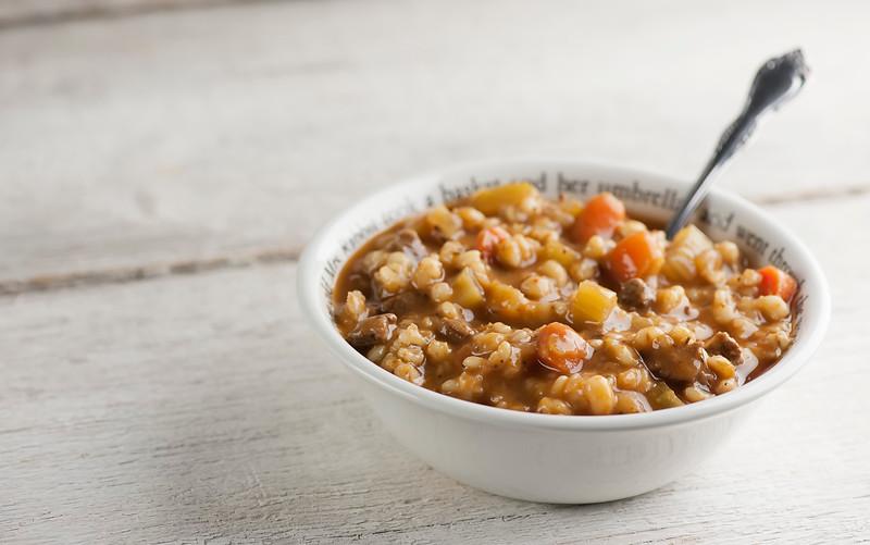 Instant Pot Beef Barley Soup