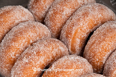 Apple Cider Donuts, Sunrise Orchards, Crawford County, Wisconsin