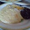 cheddar parmesan black pepper garlic grits