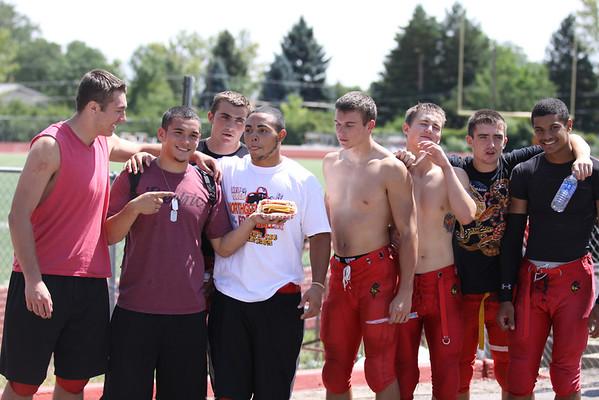 Football Seniors 2012