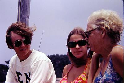 Gaines, Linda, and Aunt Cade