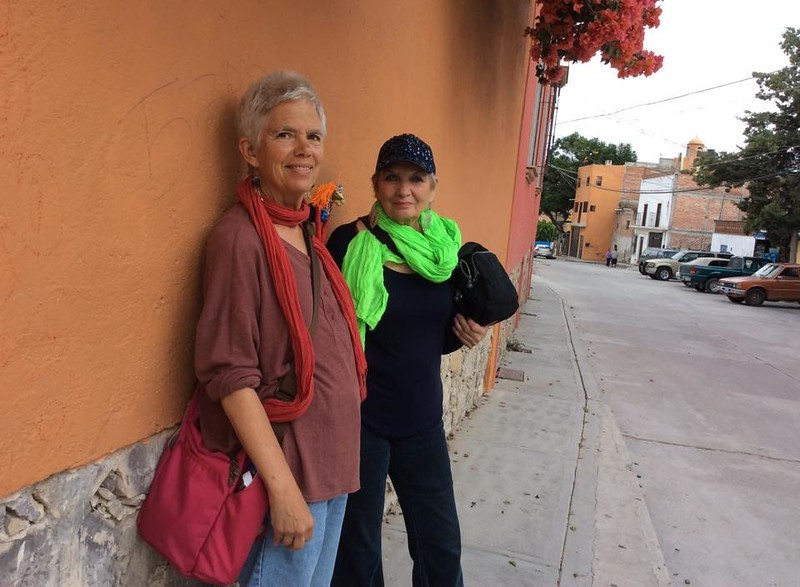 Me with my housemate and friend Sharon in San Miguel last year (2016)