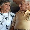 2007 My great aunt Florence and her new husband, Marvin.