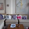 My living room in my house in Chapala, Jalisco. Two more paintings.