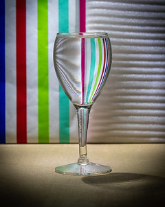The Floating Stemware Illusion