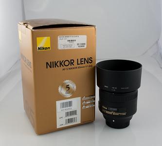 Nikon 85mm F1.8