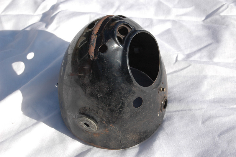 BMW /2 headlight bucket, some damage. $100 shipping included