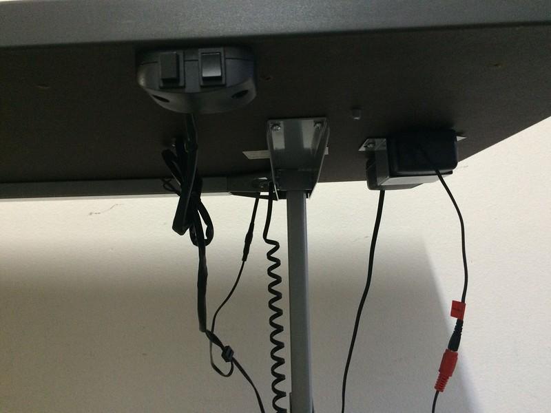 "BioMorph Standing Desk 72"" x 24"" - controls & power supply"