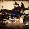 New HP2! Helge's old bike is now mine!