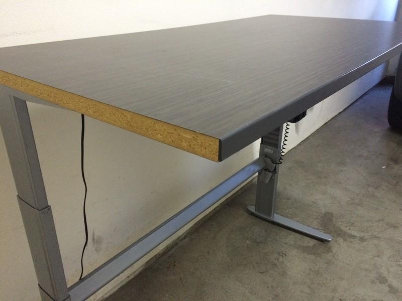 "BioMorph Standing Desk 60"" x 30"" - missing left end cap"