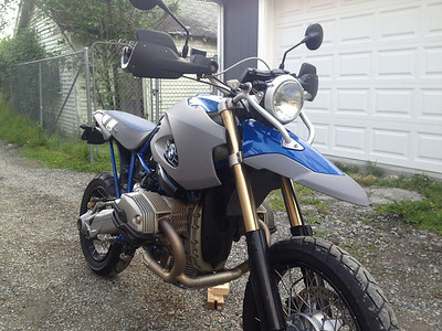 Sold! 2006 BMW HP2 Enduro for sale. 30,672 miles, some nice bits!