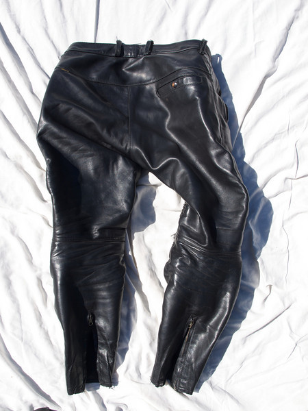 Vanson StreetRider leather pants - size 36