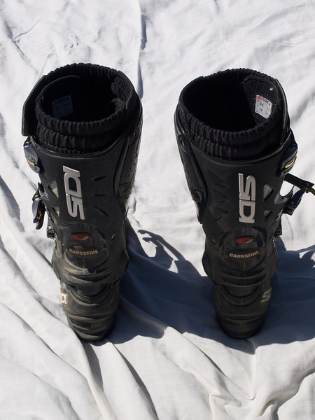 Sidi Crossfire SRS boots - size 44