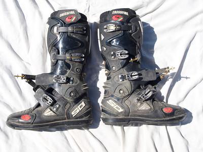Sidi Crossfire SRS boots - size 44