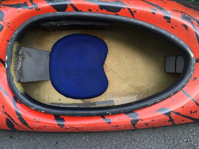 New Wave Screaming Meanie cockpit rim/seat area