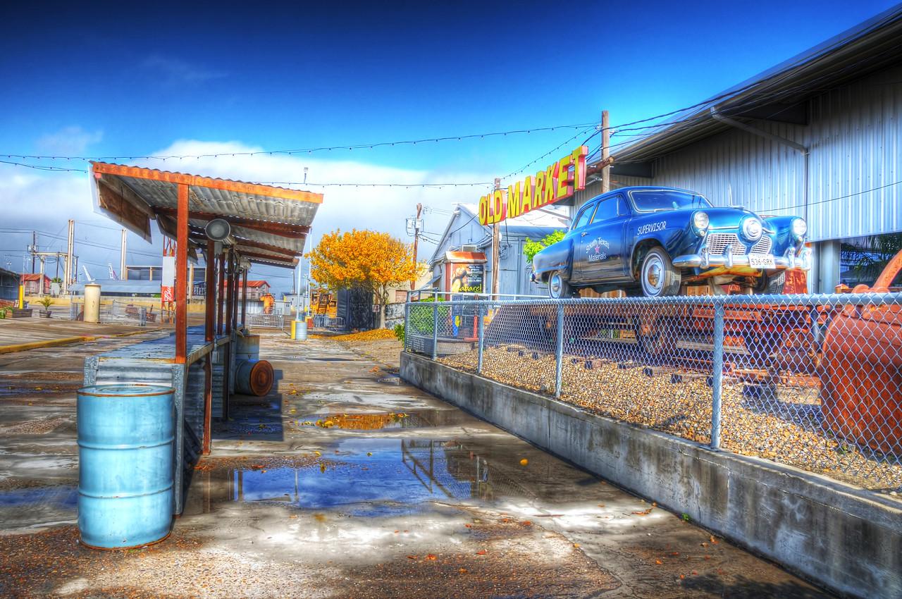 """Wet Morning at Concrete Street"""
