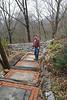 Stairway path, Theater, Private Garden, Maryland