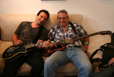 Peter Distefano and Mike Watt