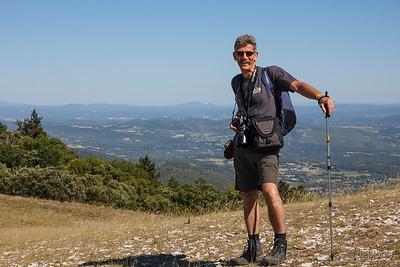 Bergwandeling naar Le Mourre Negre Provence