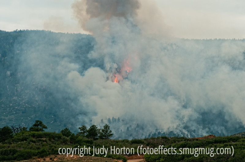 Beaver Creek forest fire in Colorado; best viewed in the larger sizes