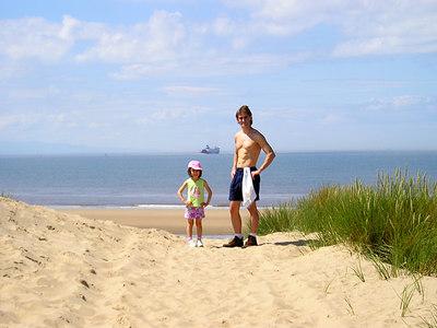 Formby beach.