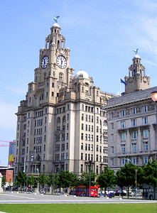 Liver and Cunard buildings.