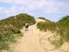 Sand dunes, Formby beach.