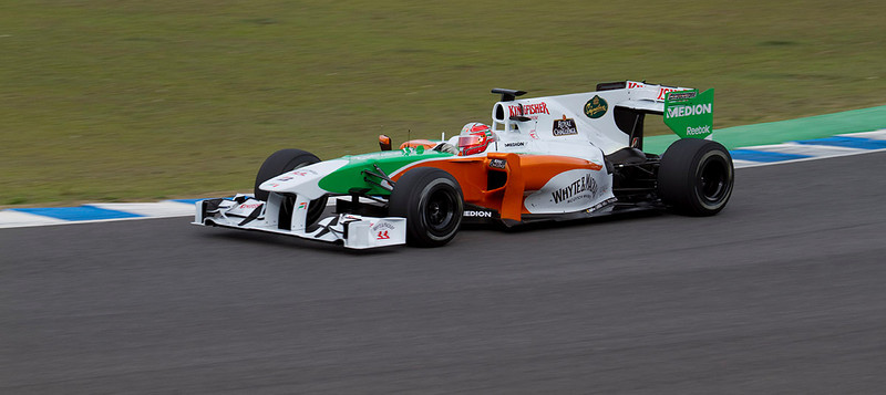 Vitantonio Liuzzi, Force India.