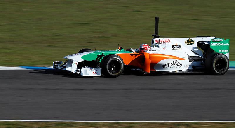 2010- Force India- Liuzzi