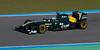 Kovalainen/Lotus. Jerez, 12 de Febrero de 2011
