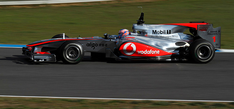 2010- McLaren-Button Jerez