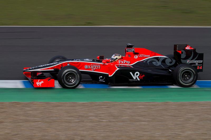 Timo Glock, Virgin Racing.