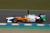 Paul di Resta/Force India. Jerez 12 Febrero 2011