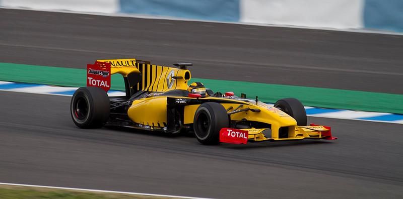 Kubica, Renault