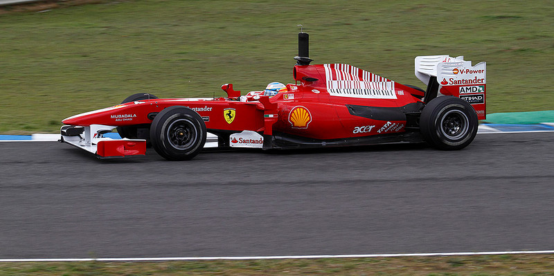 2010, Jerez. Ferrari-Alonso