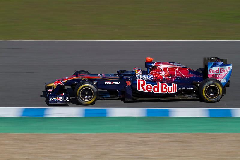 Buemi/Toro Rosso. Jerez 12 Febrero 2011