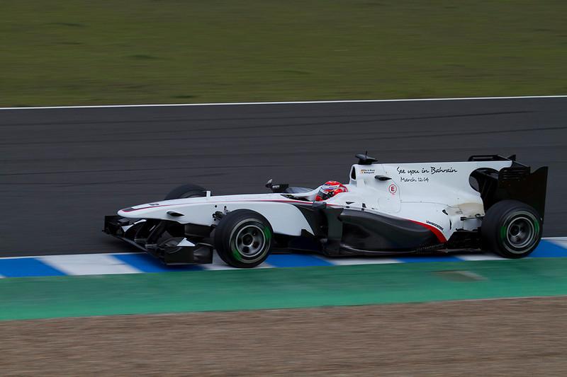 BMW-Sauber. Kamui Kobayashi. Jerez, Febrero 2010