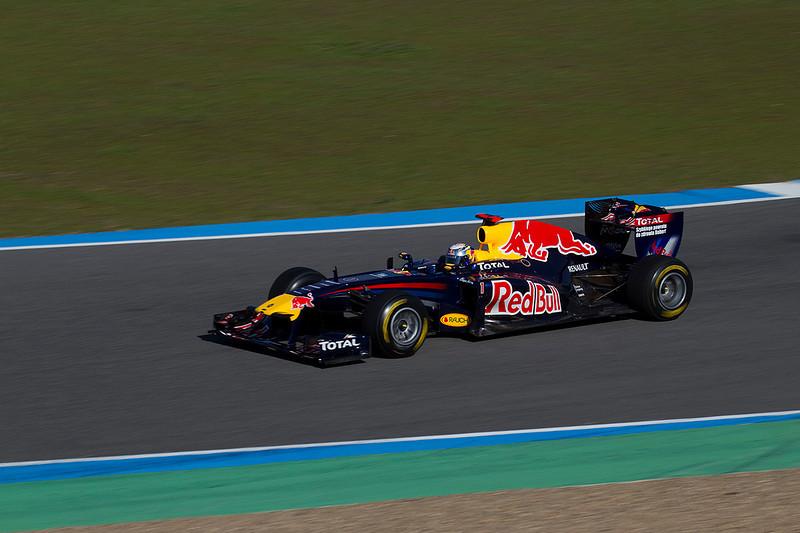 Vettel/Red Bull. Jerez 12 Febrero 2011