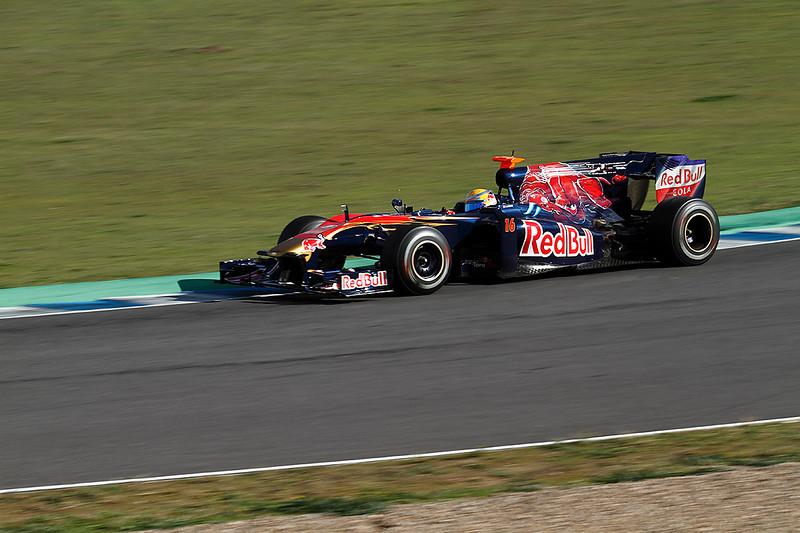 2010, Jerez. Toro Rosso-Buemi