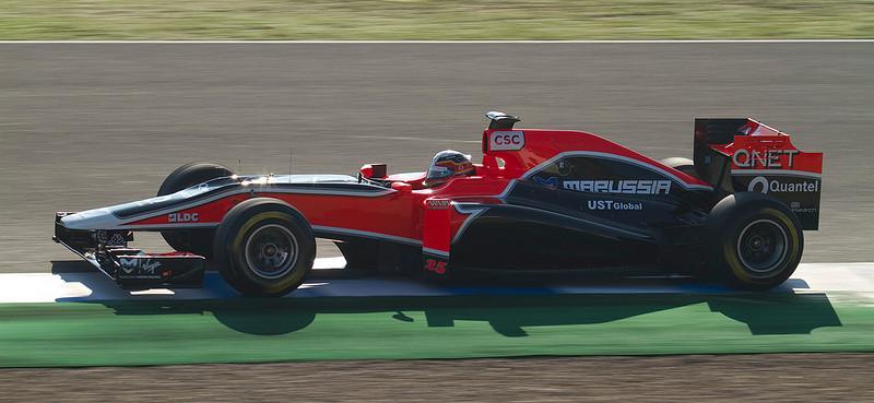 D'Ambrosio/Virgin. Jerez 12 Febrero 2011