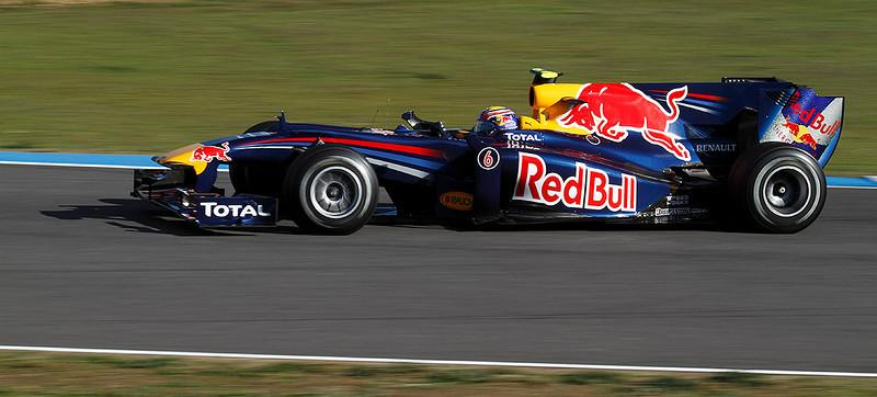 2010, Jerez. Red Bull-Webber