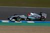 Schumacher/Mercedes. Jerez 12 Febrero 2011