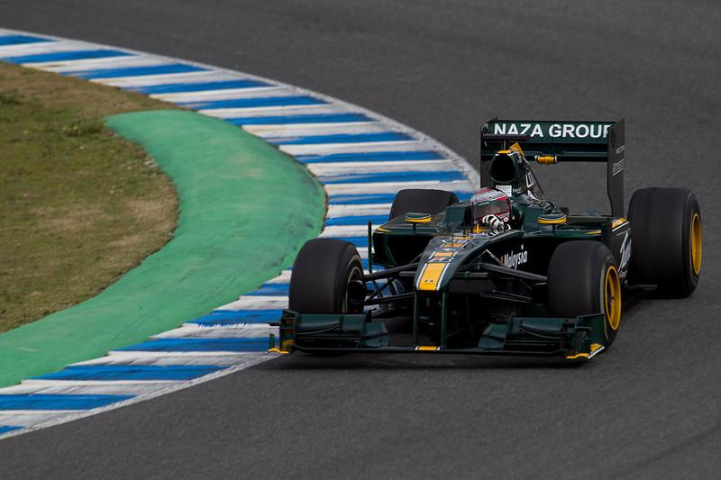 Jarno Trulli, Lotus. Jerez, Febrero 2010