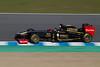 Nick Heidfeld/Lotus-Renault. Jerez 12 Febrero 2011