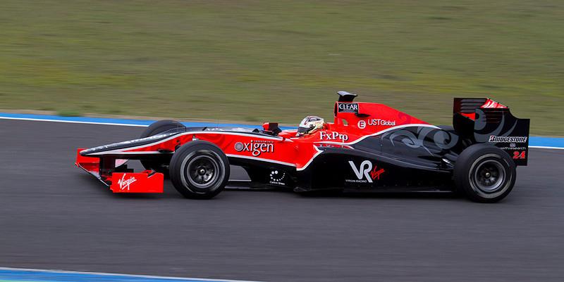 Glock, Virgin Racing
