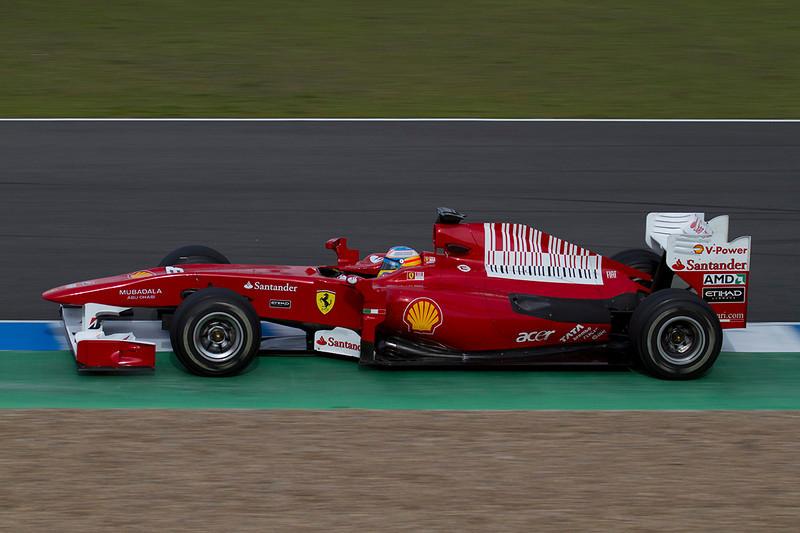 Ferrari. Alonso.