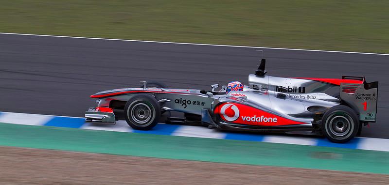 Button, McLaren