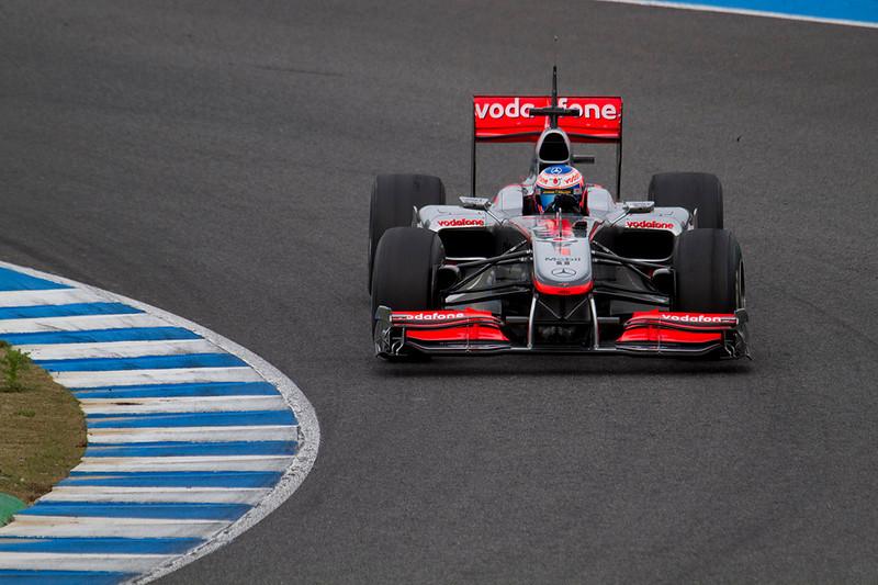 Button, McLaren.